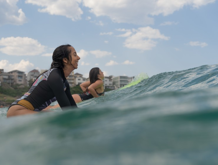 We mogen weer gaan surfen!