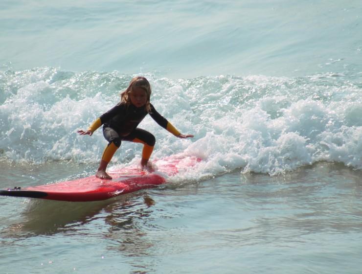 Surfen met het hele gezin