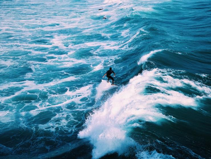 Aparte plekken om te surfen